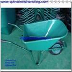 85 Liter plastic tray heavy duty garbage wheelbarrow