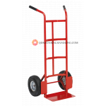 Sack truck with pneumatic tyres 200kgs capacity