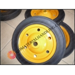 "Solid rubber wheel 13""x3"""