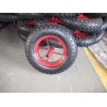 "14""x3.50-8 pneumatic rubber wheel