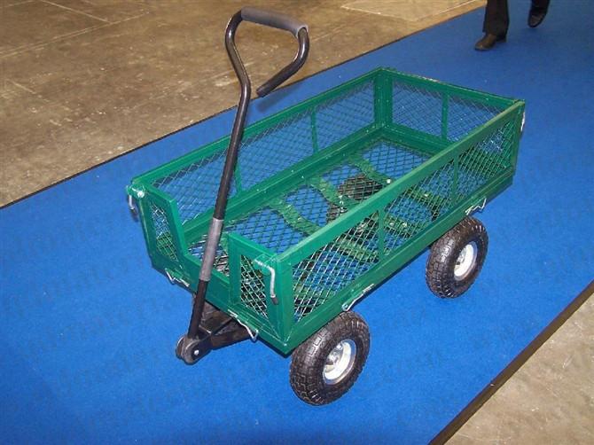 Electric Farm Wagon ~ Farm ranch steel utility cart lbs garden