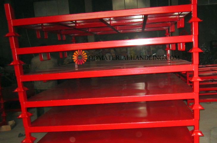 Aluminum Rack Manufacturers Mail: Movable Metal Stacking Tyre Rack By Direct Manufacturer