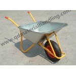 Galvanized heavy duty construction wheel barrow WB6404H