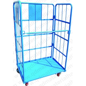 Heavy Duty 3 Sided Wire Mesh Roll Container RC1100