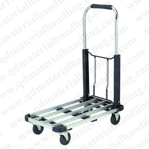 Folding Platform Truck 16 in x 28 in Hand Cart Dolly 330 lb Capacity Casters