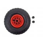 "10""x 3.50 - 4 Pneumatic Rubber Wheel for Trolley,Sack Truck"