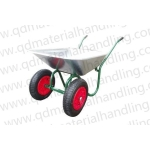 Russian double wheels wheelbarrow WB6410
