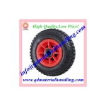 Solid Rubber Puncture Proof Tyres - Plastic centred 250x4