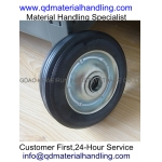 Factory cheap price 6 inch  solid rubber wheel wheel barrow wheels