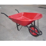 China Manufacturer of Metal Tray Wheel Barrow WB7200|Construction wheelbarrow?Builder wheelbarrow?Heavy duty wheelbarrow WB7200