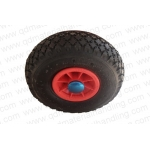 10'' Pneumatic rubber wheels 10''x 3.00-4