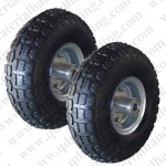 "10"" x350-4 Pneumatic Sack Truck Trolley Wheel"